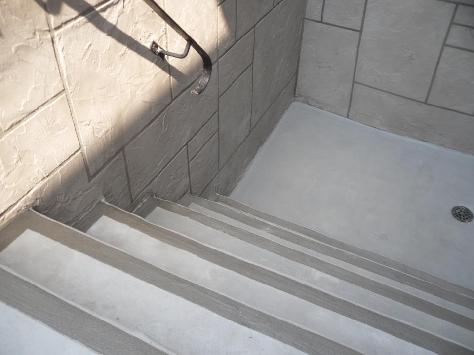 Stairwells Resurfacing