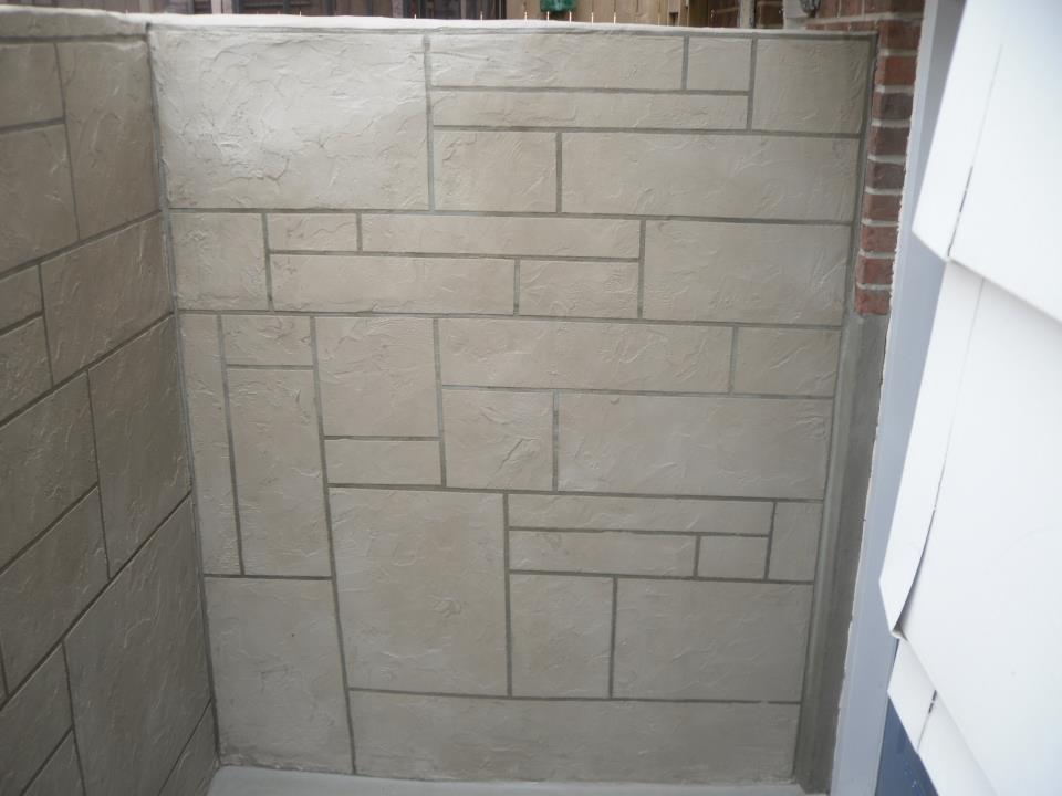 portfolio parging parging wall coatings foundation repair parging