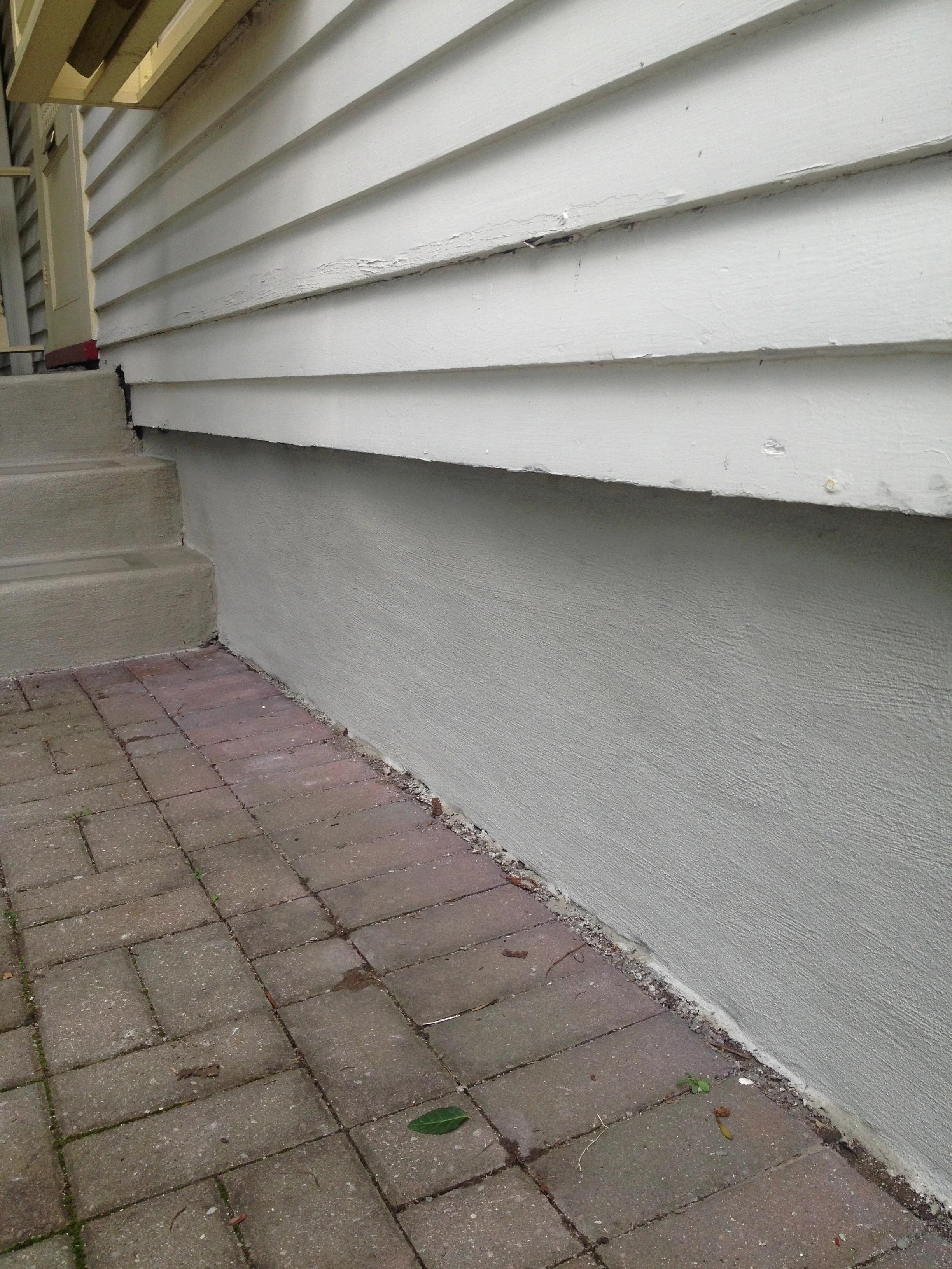 similar portfolio parging parging wall coatings foundation repair