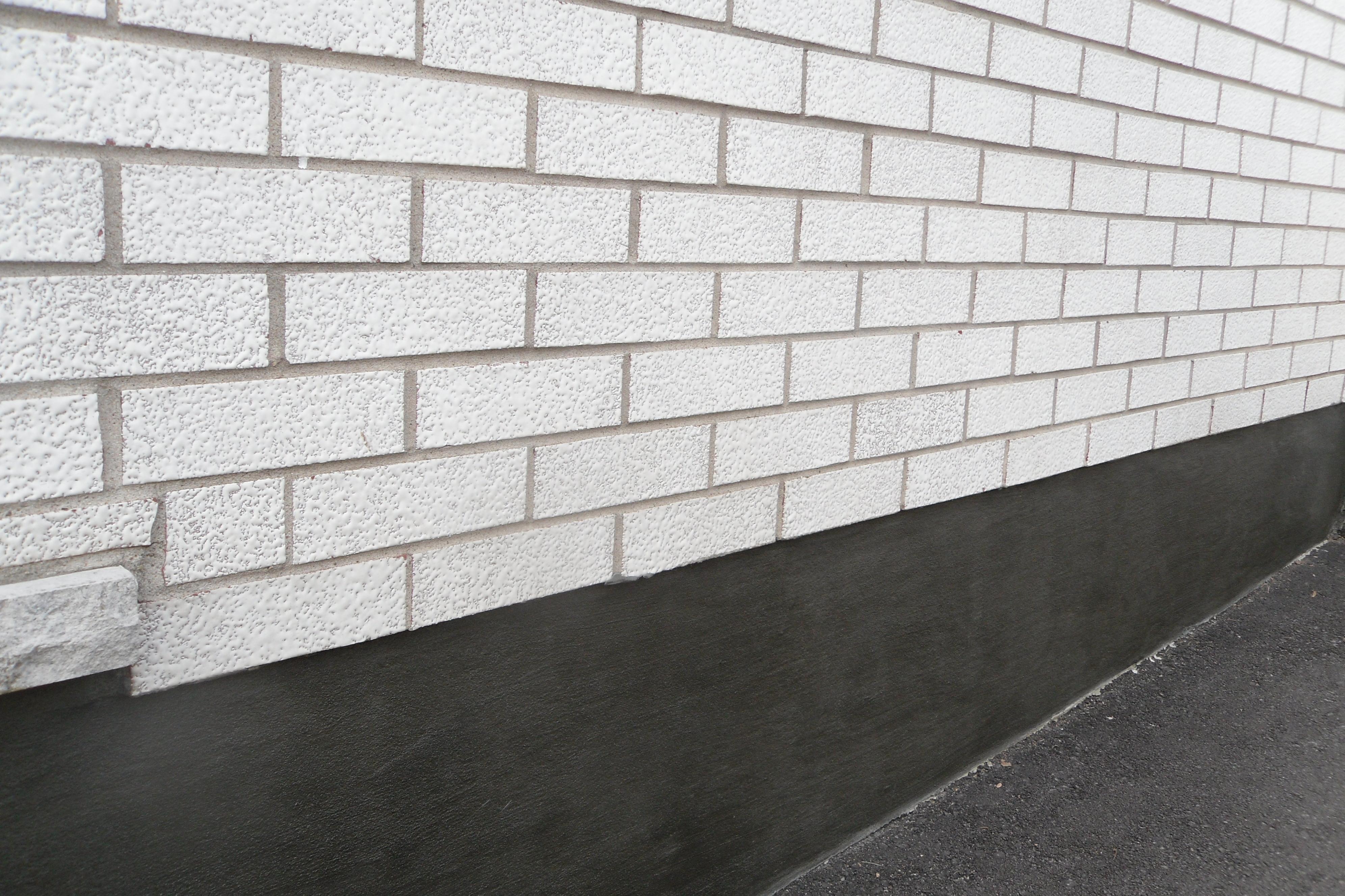similar portfolio parging wall coatings foundation repair parging